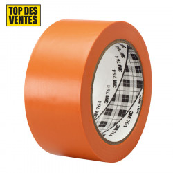 Ruban vinyle 764 I  3M™ - 50 mm x 33 m - Orange