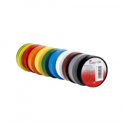 Temflex™ 1500 ruban vinyle-3M™ - 19 mm x 20 m - Multicolore