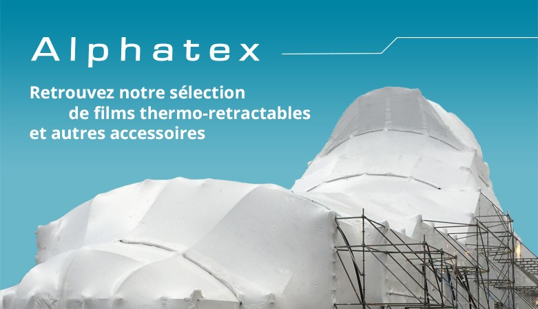 Alphatex, films thermo retractables