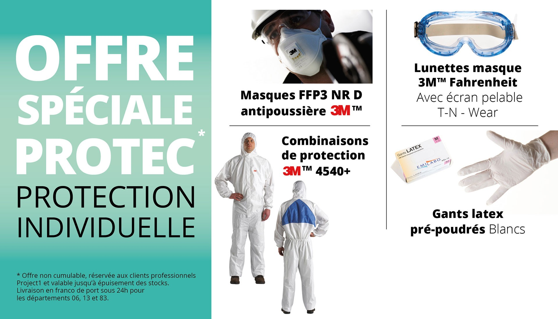 Offre spéciale protection individuelle